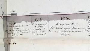 Ponts et Chaussées 1823 (ADBR, cote 2 SP 52)