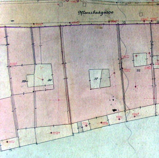 Maisons de strasbourg 22 rue du bain aux plantes - Releve cadastral propriete ...