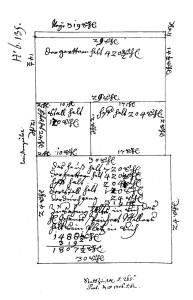 Plan n° B 135, cote VII 27 (1706)