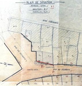 Seyboth 17, 1956 Plan