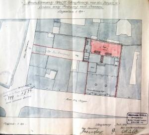 Noyer 4 (1923, Police du bâtiment - Plan)