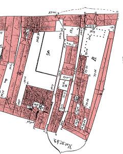 Plan 1830 îlot 43