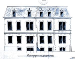 Ritleng façade rue Royale