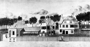 Zimmerhof (aquerelle de Hoffet)