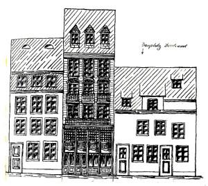 1910, dessin de l'architecte Werler (Argile 7)