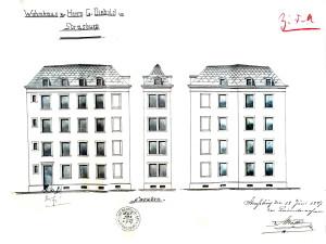 Bain-aux-Plantes 8, 1887 élévations
