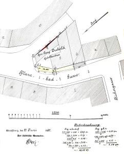 Bain-aux-Plantes 8, 1887 Cession