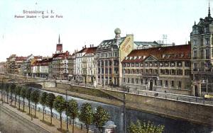 Paris (quai) carte postale