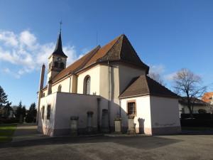 Plobsheim – Eglise Saints Pierre-et-Paul (janvier 2016)