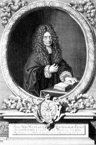 Wencker (portrait, 1633-1715) BNU