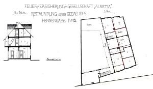 Poules 12 (1897, Elévation)