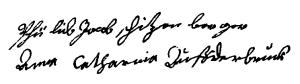 Schützenberger-Auf der Bruck (1722, S. Thomas f° 179-v)