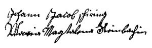 Schiring-Steinbach (1722 SPV 97-v)