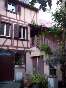 Zurich 58 - (cour escalier) 24-10-07