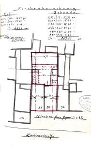 Zurich 58 (plan 1908) 2437