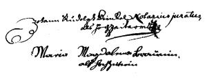 Dinckel-Braun (1736 St Thomas f° 11)