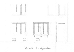 Sanglier 8, 1897, façade rue du Chaudron