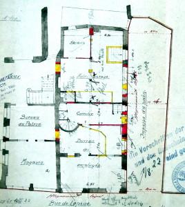 1922, plan
