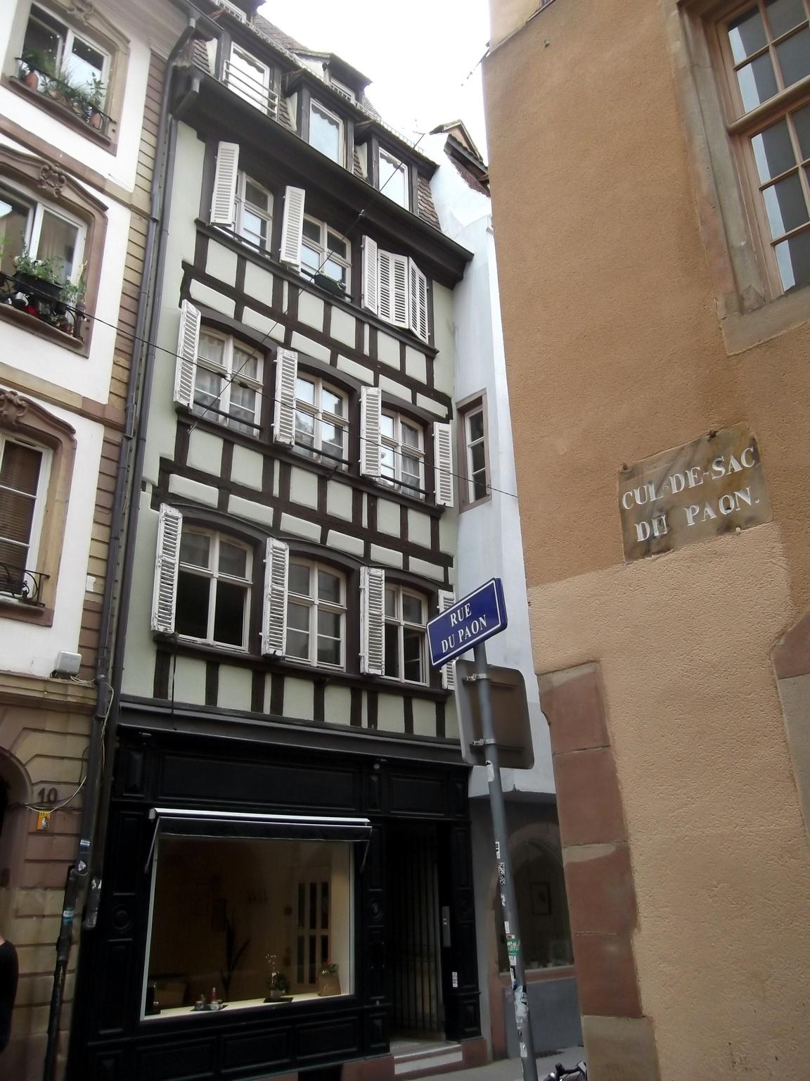 Maisons de Strasbourg » 8, rue de l\'Epine