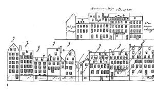 136 Elévations Cour A, 1 sqq (1830 et 1861)