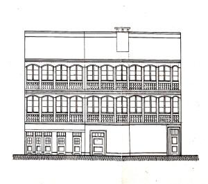 Pelletiers 2, 1922 façade sur cour