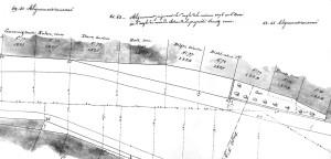 Vieux-Marché-aux-Vins 9 (Ponts et Chaussées 1856, ADBR, cote 5 K 123)