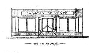 Fossé des Tanneurs 6 (1946, baraque)