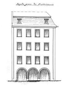 Ail 22 (1901, façade rue de l'Ail)