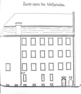 Ail 22 (1901, façade rue du Bateau)