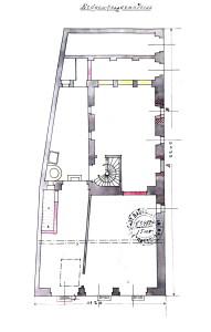 Ail 22 (1901, plan du rez-de-chaussée)