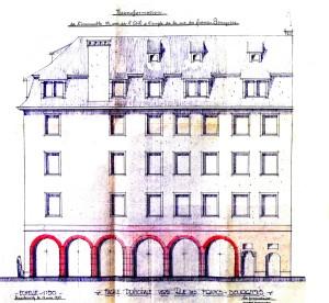 Ail 22 (façade ouest, 1935)