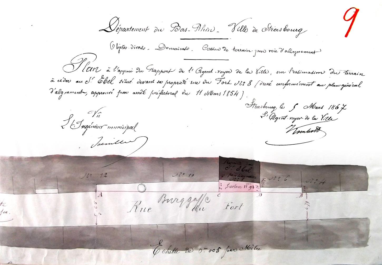 55 Cour V Fort 8 Plan 1867