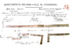 Sainte-Madeleine 18, terrain 1860