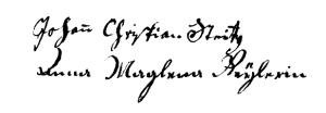 Steitz (Chrétien, 1750, SPV f° 62)