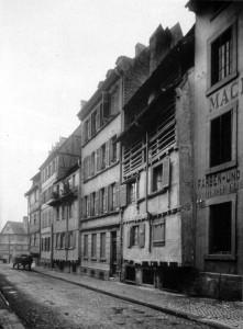 Fossé des Tanneurs 46 sqq (v 1910)
