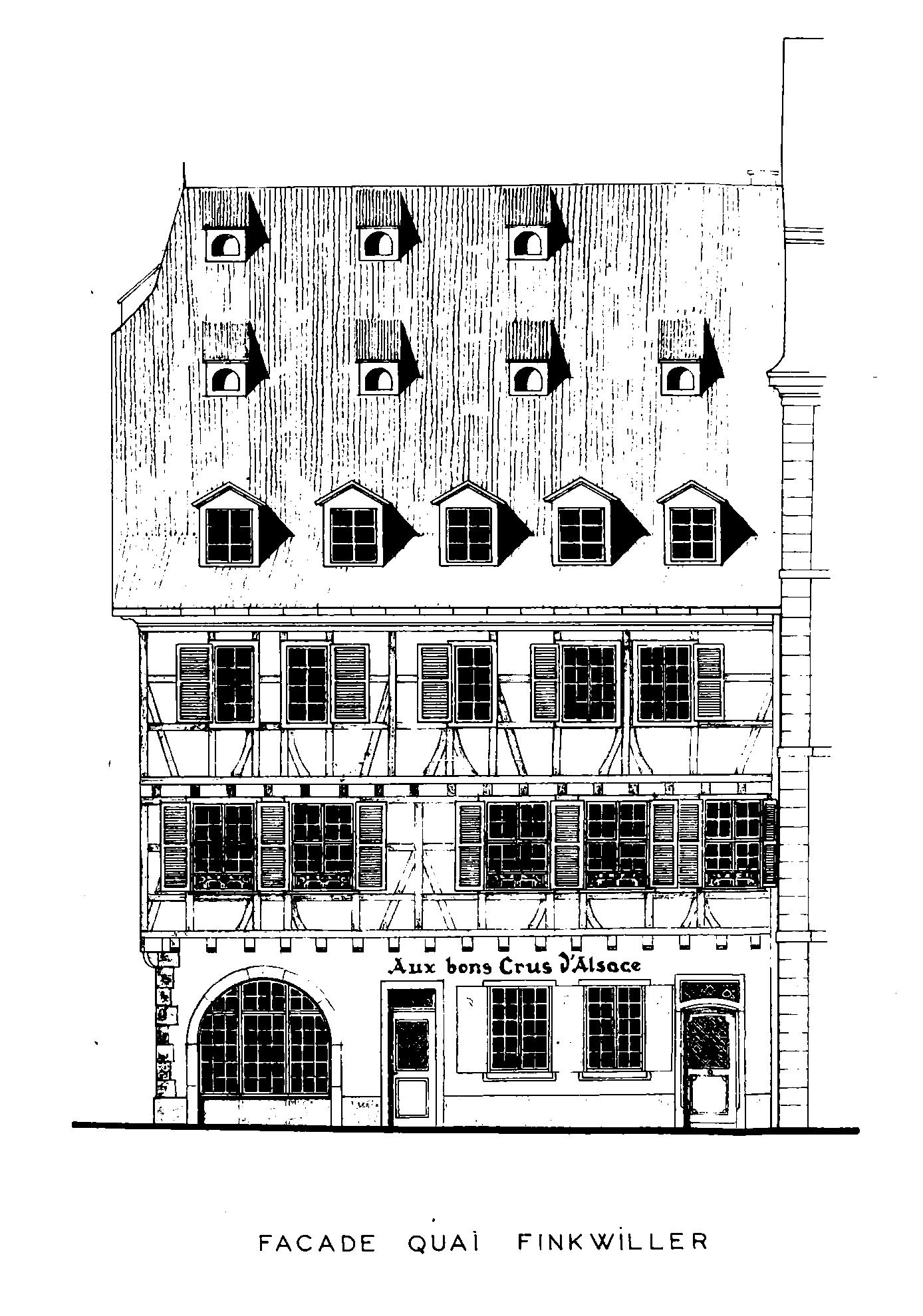 Maisons de Strasbourg Résultats de recherche 27 quai des bateliers