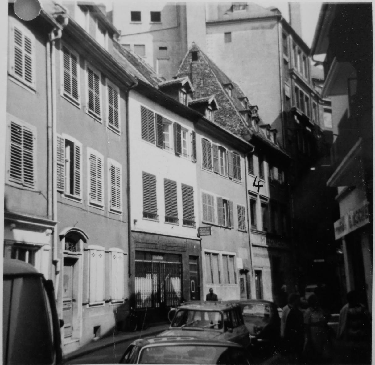 Maisons de Strasbourg » 10, rue Sainte-Barbe