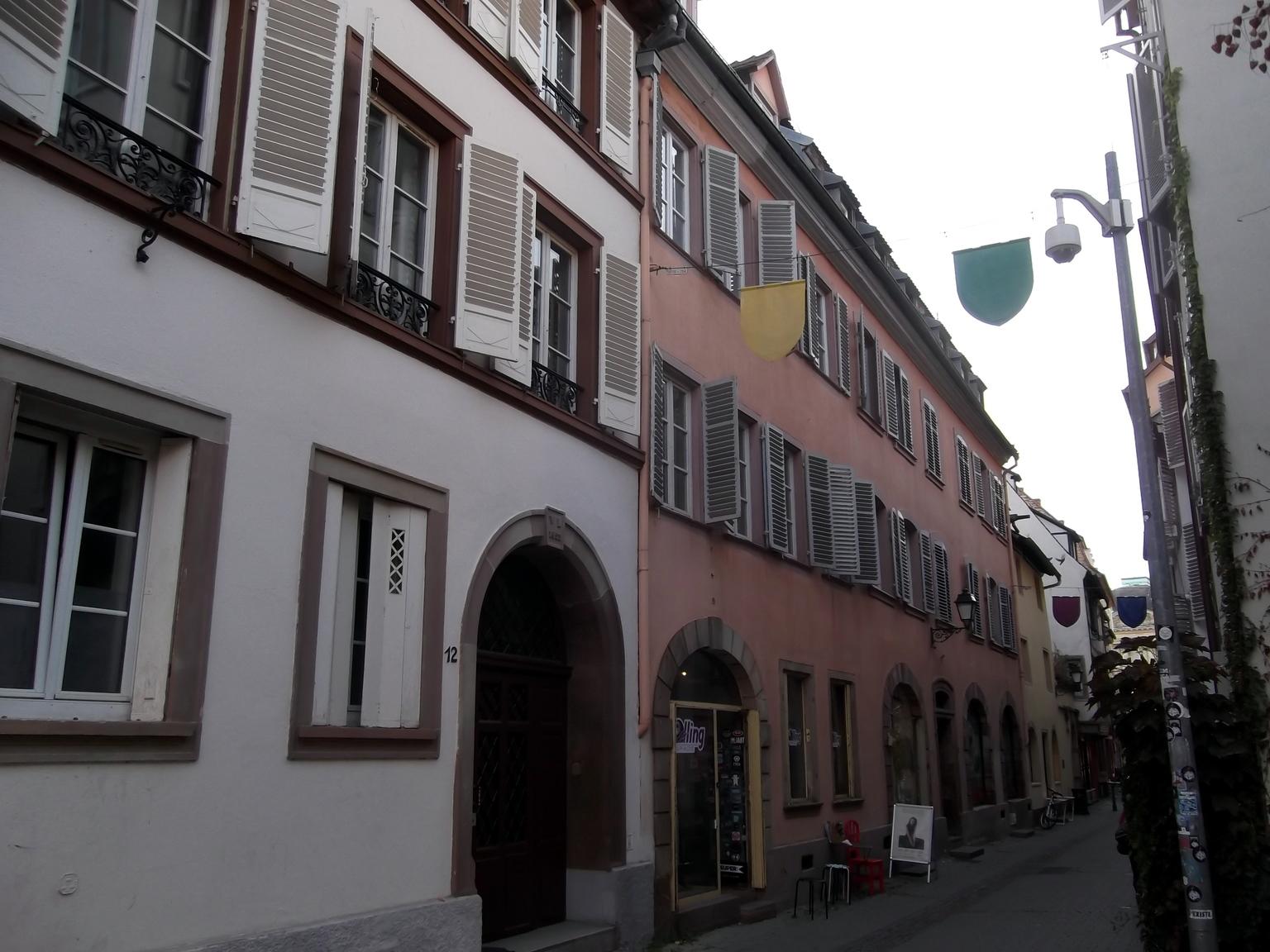 Maisons de Strasbourg » 10, rue Sainte-Madeleine