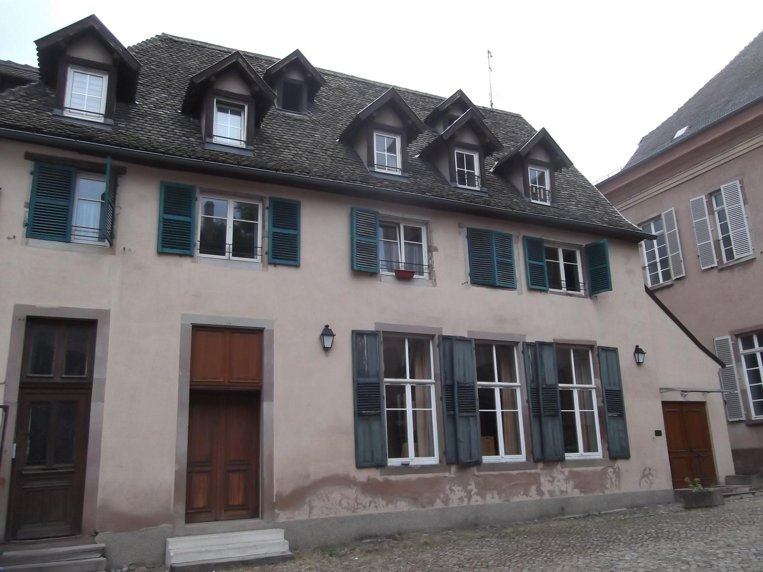 Maisons De Strasbourg 4 Rue Du Bouclier