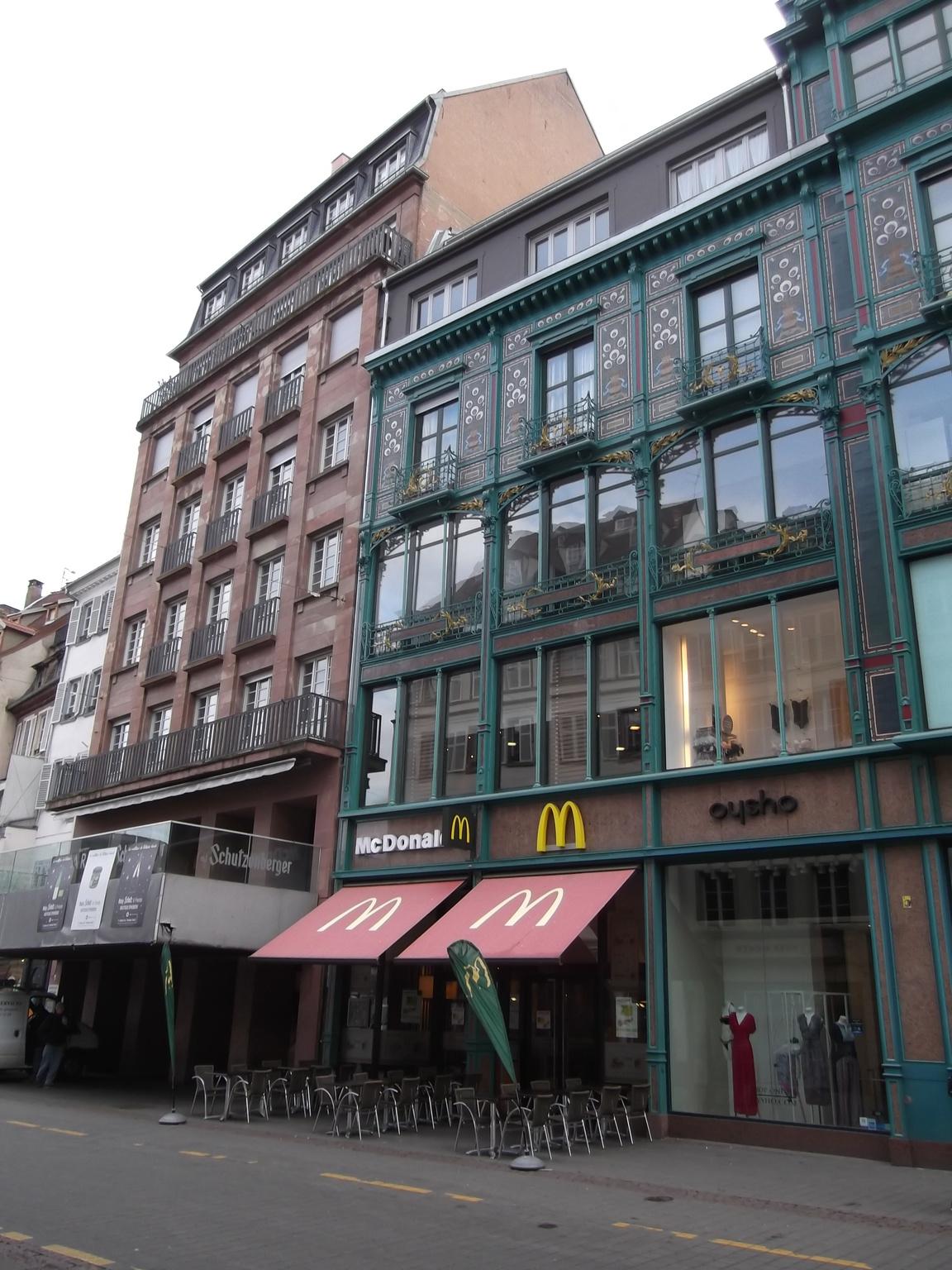29 Rue De La Ferronnerie maisons de strasbourg » 29, rue des grandes arcades