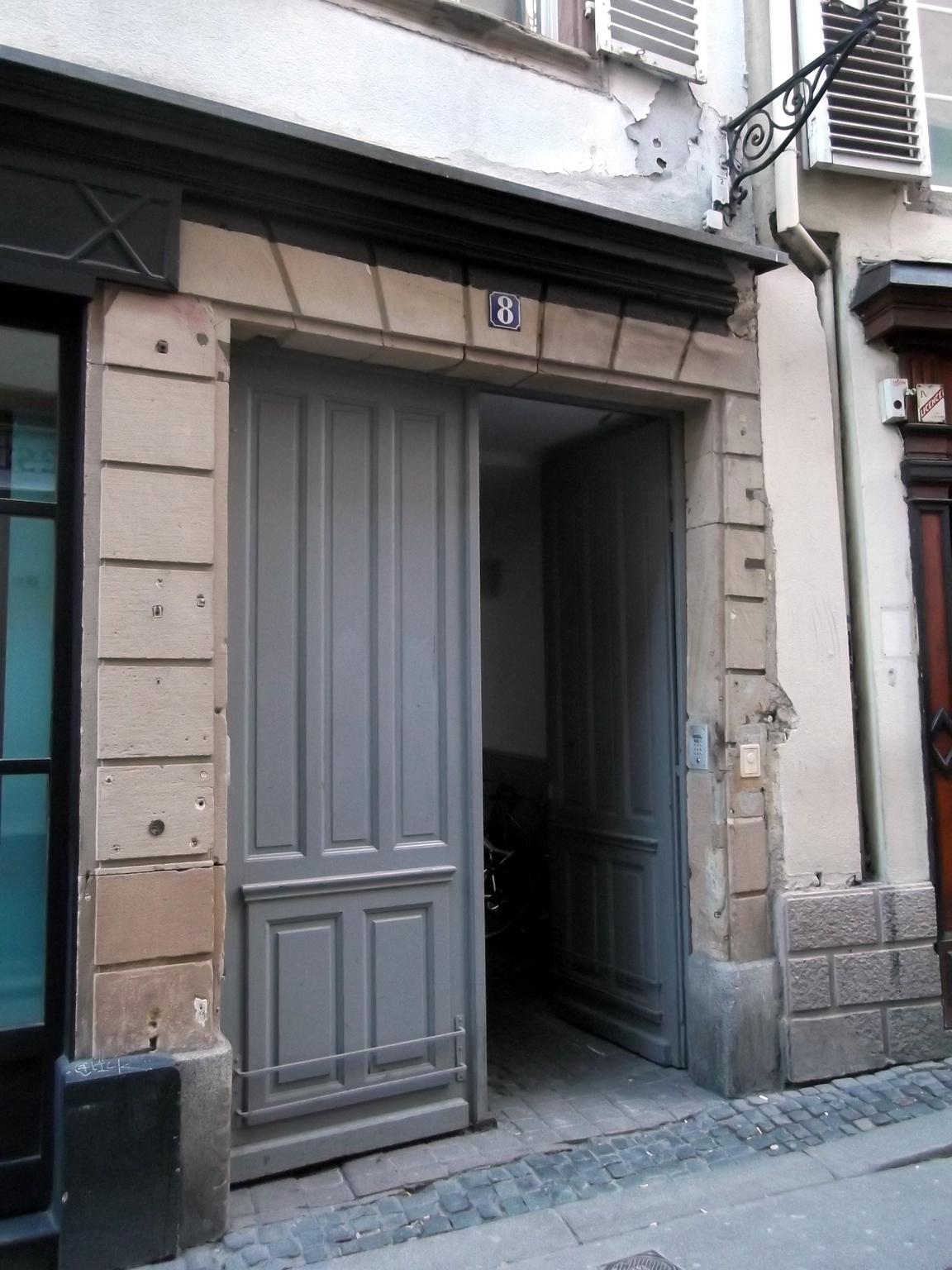 Pro Gouttiere Sainte Cecile maisons de strasbourg » 8, rue du faisan