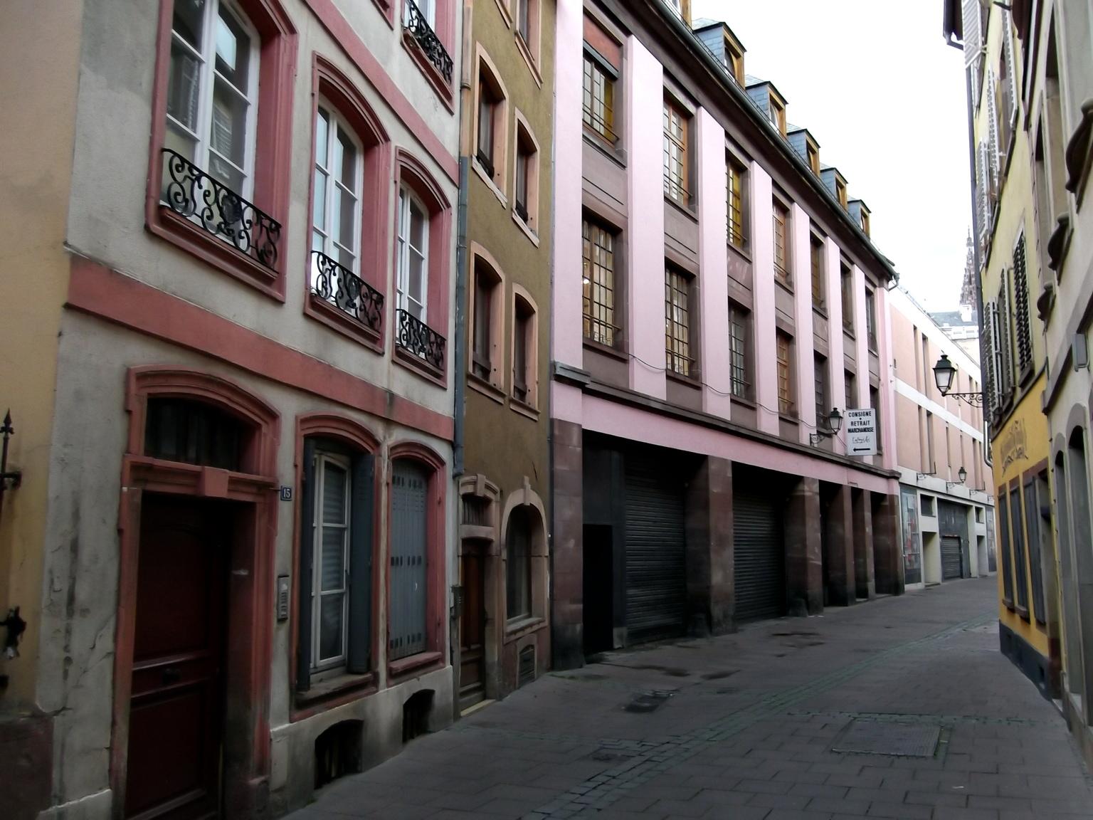 Pro Gouttiere Sainte Cecile maisons de strasbourg » 23, rue sainte-hélène