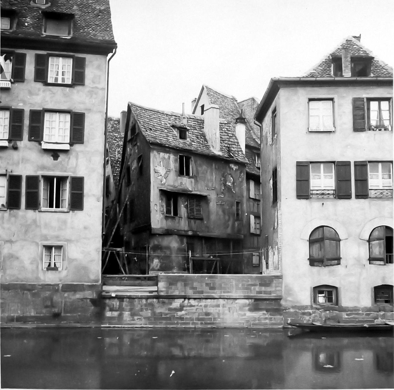 Maison En Ruine Dessin maisons de strasbourg » 7, quai de la bruche